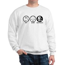 Eat Sleep Beethoven Sweatshirt
