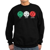 Eat Sleep Bocce Sweatshirt