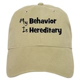 My Behavior Baseball Cap