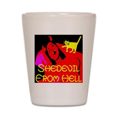 Shedevil from Hell Shot Glass