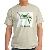 Pole Vaulter Ash Grey T-Shirt