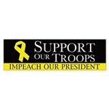 Impeach our President Car Sticker