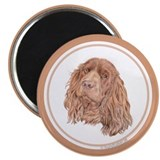 "Sussex spaniel 2.25"" Magnet (10 pack)"