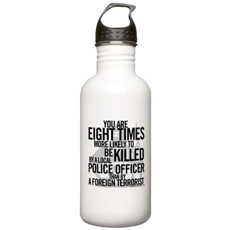 Terrorist Odds Stainless Water Bottle 1.0L
