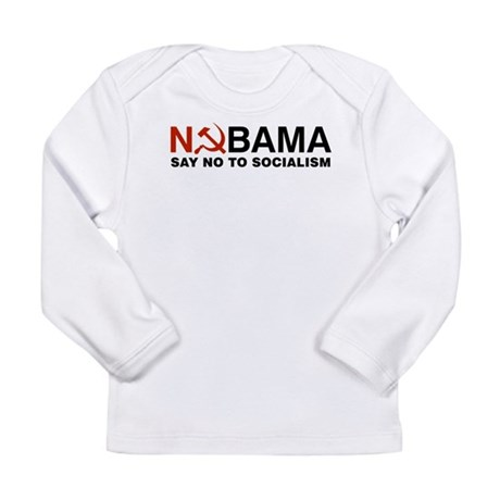 No Socialism Long Sleeve Infant T-Shirt