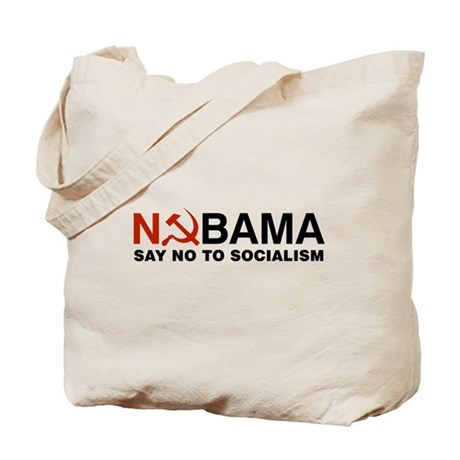 No Socialism Tote Bag