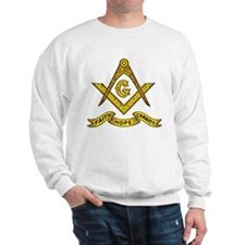 Masonic Faith Hope Charity Emblem Sweatshirt