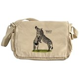 Grant's Zebras Messenger Bag