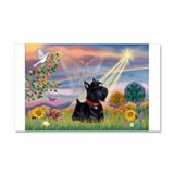 Cloud Angel & Scotty Car Magnet 20 x 12