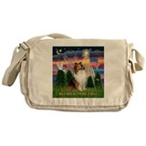 Blessed (#2) Sheltie Messenger Bag