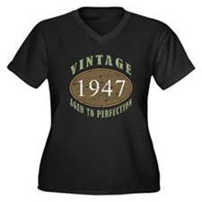 Vintage 1947 Aged To Perfection Women's Plus Size