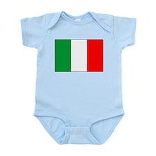 Italian National Flag Infant Creeper