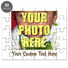 Custom Photo and Text Puzzle