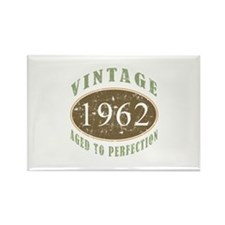 Vintage 1962 Aged To Perfection Rectangle Magnet