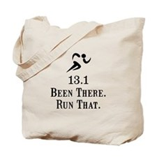 13.1 Been There Run That Tote Bag