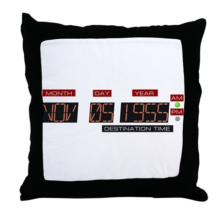 Back to Nov 5 1955 T-Shirt Throw Pillow