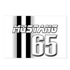 Mustang 65 Postcards (Package of 8)
