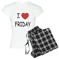 I heart friday Pajamas