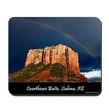 Red Rock Rainbow ~ MousePad