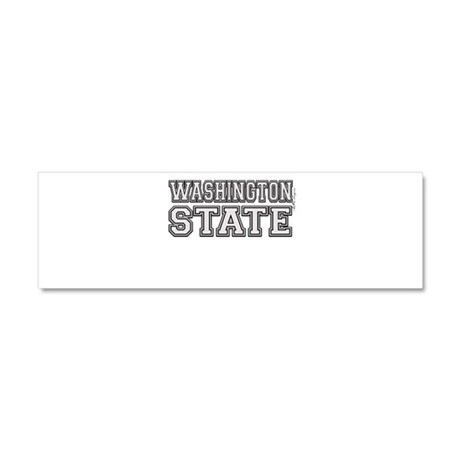 Washington State Car Magnet 10 x 3
