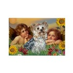Angels with Yorkie Rectangle Magnet (10 pack)