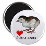 "Love Guinea Keets 2.25"" Magnet (100 pack)"