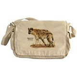 Spotted Hyena Messenger Bag