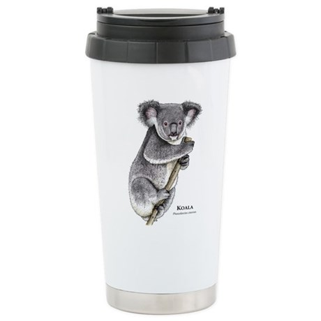 Koala Ceramic Travel Mug