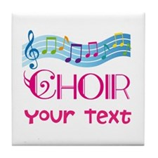 Cute Customized Choir Tile Coaster