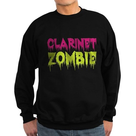 Clarinet Zombie Sweatshirt (dark)
