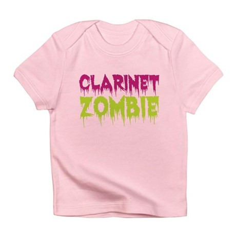 Clarinet Zombie Infant T-Shirt