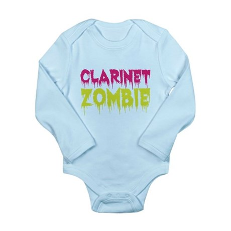 Clarinet Zombie Long Sleeve Infant Bodysuit