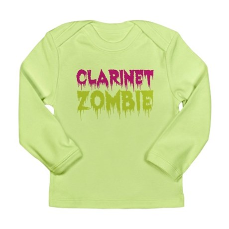 Clarinet Zombie Long Sleeve Infant T-Shirt