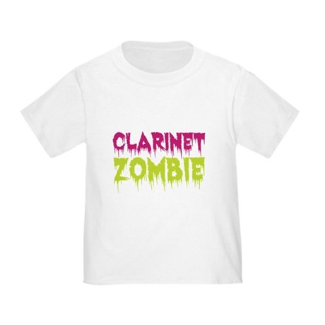 Clarinet Zombie Toddler T-Shirt