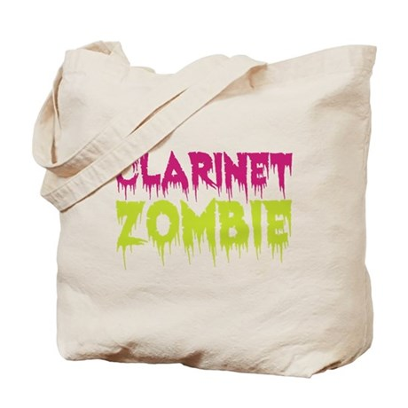 Clarinet Zombie Tote Bag