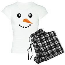 FROSTY SNOWMAN FACE Pajamas