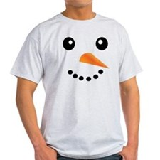 FROSTY SNOWMAN FACE T-Shirt