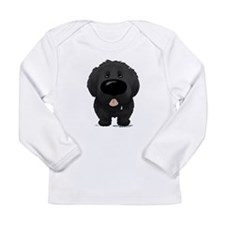 Big Nose Newfie Long Sleeve Infant T-Shirt
