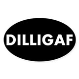 DILLIGAF Stickers