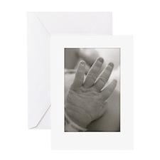 Unique Newborn photography Greeting Card