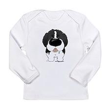 Big Nose Newfie Long Sleeve Infant T-Shirt