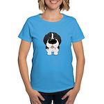 Big Nose Newfie Women's Dark T-Shirt