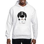 Big Nose Newfie Hooded Sweatshirt