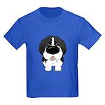 Big Nose Newfie Kids Dark T-Shirt