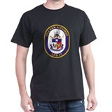 USS San Antonio LPD 17 Black T-Shirt