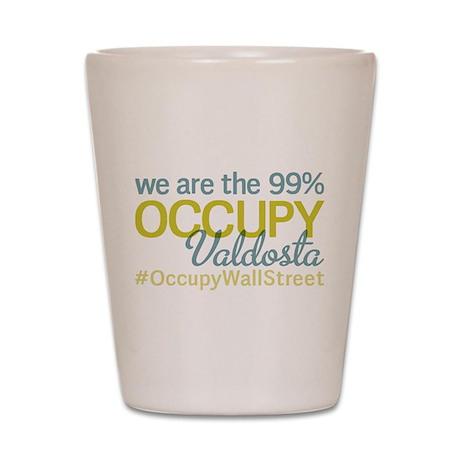 Occupy Valdosta Shot Glass