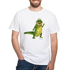 Salty the Crocodile White T-Shirt