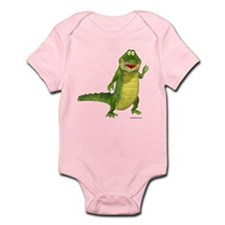 Salty the Crocodile Infant Bodysuit