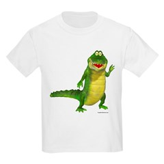 Salty the Crocodile Kids Light T-Shirt