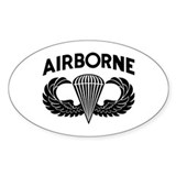 Parachutist (2) Decal